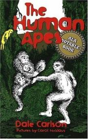 Cover of: The human apes
