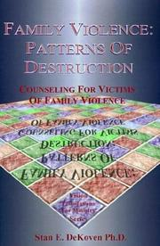 Cover of: Family Violence | Stan E. Dekoven