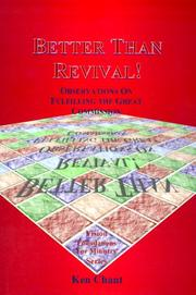 Cover of: Better Than Revival | Ken Chant