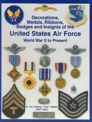 Cover of: Army Air Force and U.S. Air Force Decorations