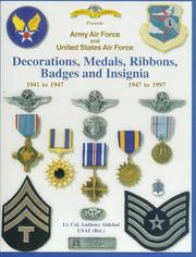 Cover of: Army Air Force and United States Air Force