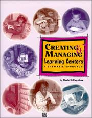 Cover of: Creating & managing learning centers