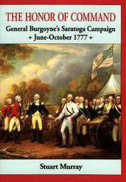 Cover of: The honor of command