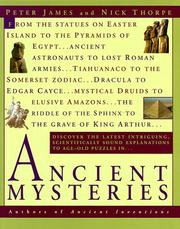 Cover of: Ancient mysteries