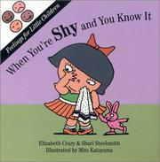 Cover of: When you're shy and you know it