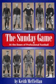 Cover of: The Sunday game
