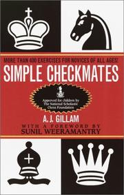 Cover of: Simple checkmates