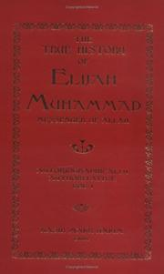 Cover of: The True History of Elijah Muhammad | Elijah Muhammad