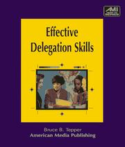 Cover of: Effective delegation skills