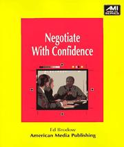 Cover of: Negotiate with confidence