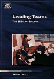 Cover of: Leading teams
