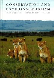 Cover of: Conservation and Environmentalism | Robert C. Paehl