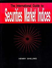Cover of: The international guide to securities market indices