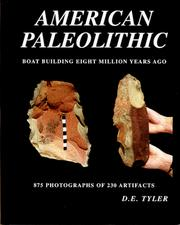 Cover of: American paleolithic