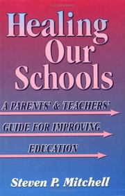 Cover of: Healing our schools