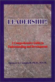 Cover of: Leadership! | Spencer Campbell