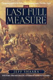 Cover of: The last full measure