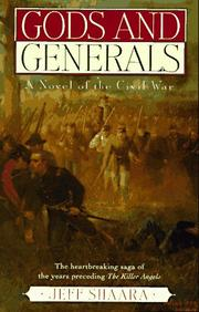 Cover of: Gods and Generals: a novel of the Civil War
