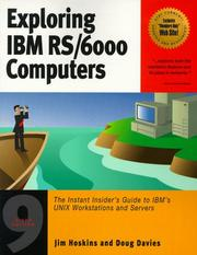 Cover of: Exploring IBM RS/6000 computers | Jim Hoskins