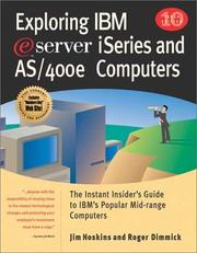 Exploring IBM Eserver Iseries and As/400 Computers by Jim Hoskins, Roger Dimmick
