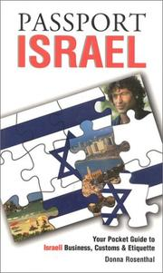 Cover of: Passport Israel