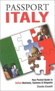 Cover of: Passport Italy