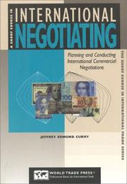 Cover of: A short course in international negotiating