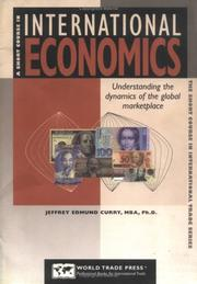 Cover of: A short course in international economics