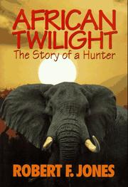 Cover of: African Twilight