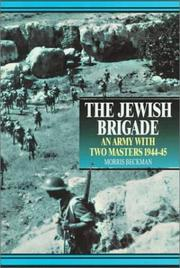 Cover of: The Jewish Brigade