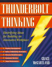 Cover of: Thunderbolt thinking | Grace McGartland