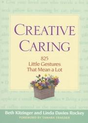Cover of: Creative caring | Beth Kitzinger