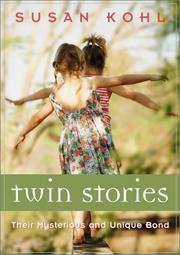 Cover of: Twin Stories | Susan Kohl