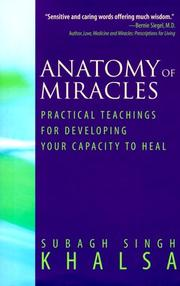 Cover of: Anatomy of miracles