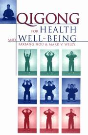 Cover of: Qigong for health and well-being