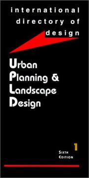 IDD6: Urban Planning & Landscape Design by