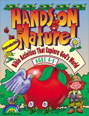 Cover of: Hands-On Nature: Bible Activities That Explore Gods World | Jeanne Grieser