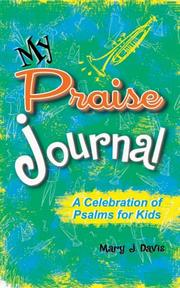 Cover of: MY PRAISE JOURNAL | Mary J.Davis