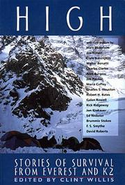 Cover of: High: Stories of Survival from Everest and K2 (The Adrenaline Series)