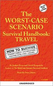 Cover of: The Worst Case Scenario Handbook: Travel (Worst-Case Scenario Survival Handbooks)
