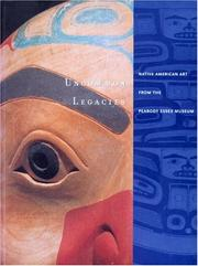Cover of: Uncommon legacies