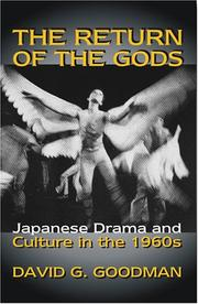Cover of: The Return of the Gods
