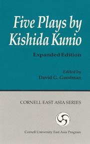 Cover of: Five Plays by Kishida Kunio