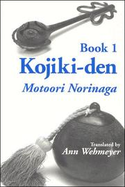 Cover of: Kojiki-den