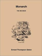 Cover of: Monarch the Big Bear