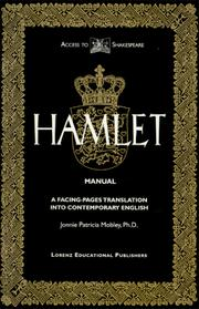 Cover of: The tragedy of Hamlet, Prince of Denmark | William Shakespeare