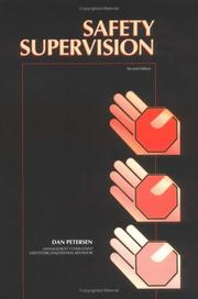 Cover of: Safety supervision