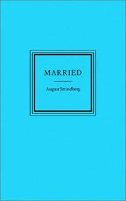 Married by August Strindberg