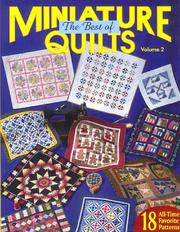 The Best of Miniature Quilts Volume 2 (Beat of Miniature Quilts) by