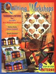 Quilting Workshops by Jean Wells